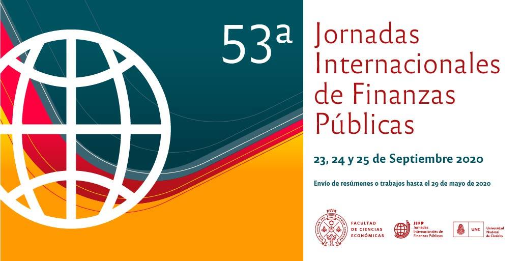 Difusión de las Jornadas Internacionales de Finanzas Públicas