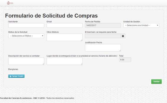 cebfc82a5d Facultad de Ciencias Económicas - Nuevo formulario de compras online