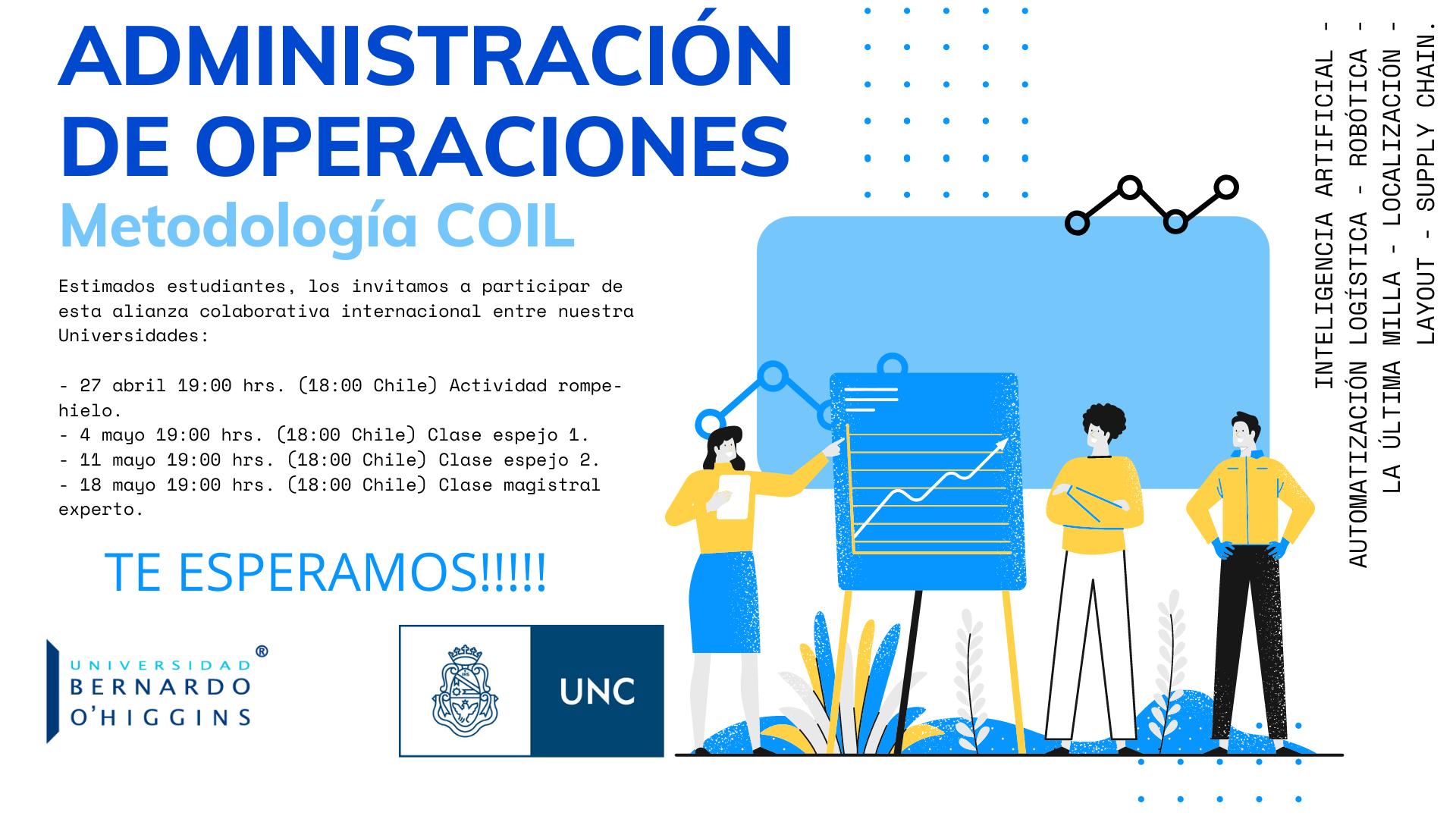 Programa Internacional UNC UBO Administración de Operaciones