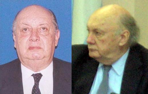 Horacio Belmaña y Walter Schülthess