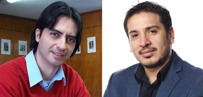 Jorge Oviedo e Iván Julio