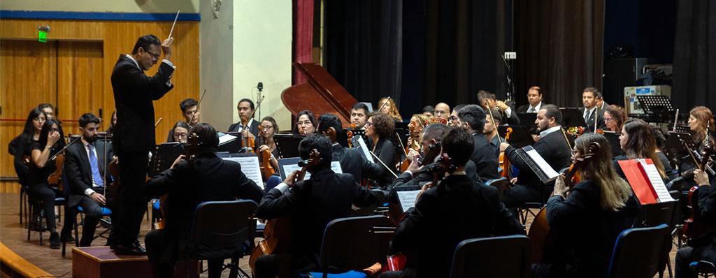 La orquesta de la Universidad