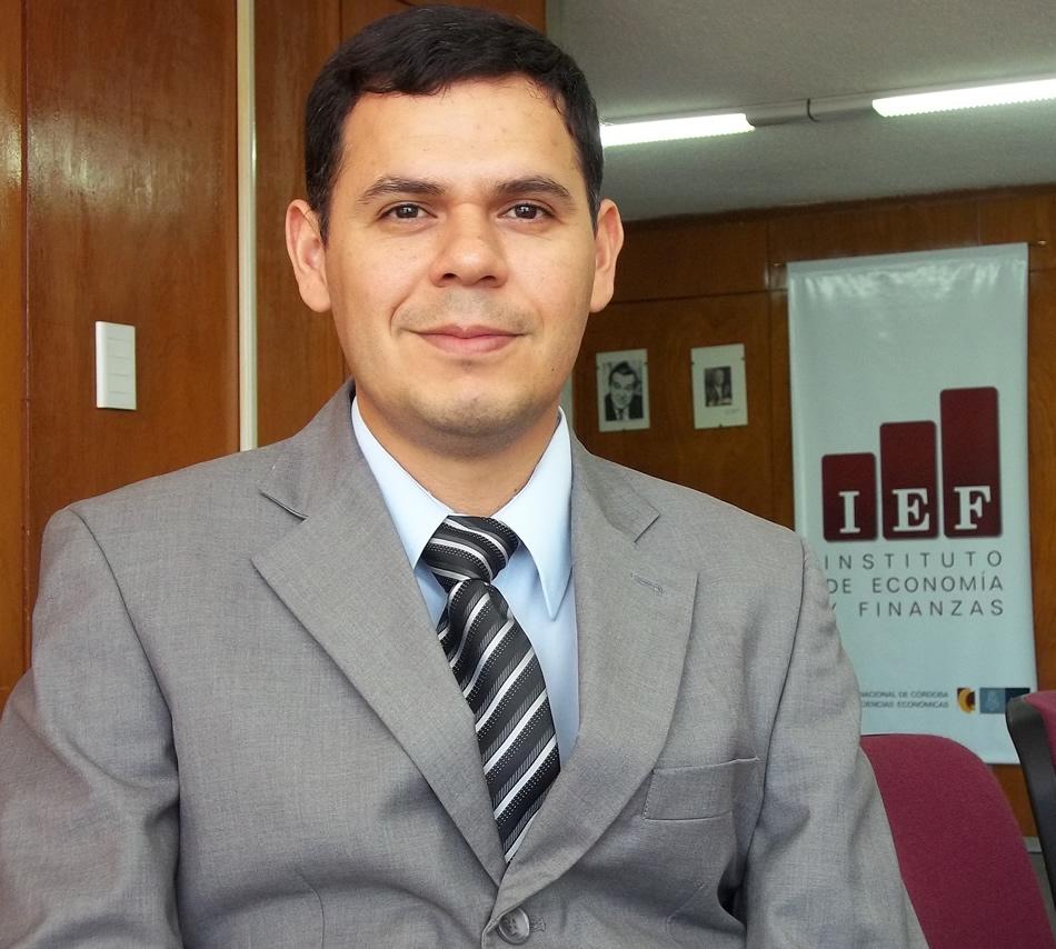 Dr. José Luis Navarrete, investigador del IEF