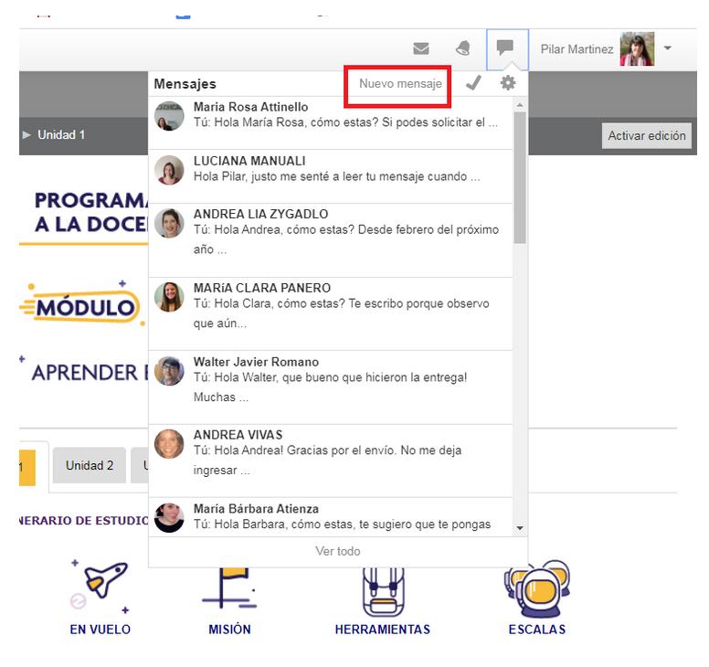 Cómo enviar un mensaje a través de la mensajería1